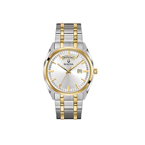 621d5a4d46c Bulova 98C127 Classic Two-Tone Stainless Steel Men s Watch - Online Only