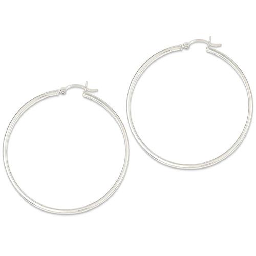 IceCarats 925 Sterling Silver 2.5mm Hoop Earrings Ear Hoops Set For Women