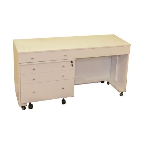 Kangaroo Kabinets Kangaroo And Joey Sewing Cabinet In White Ash