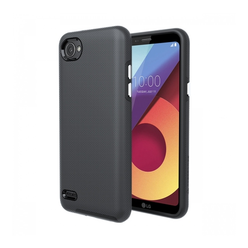 Axessorize Fitted Hard Shell Case for LG Q6 - Army Grey