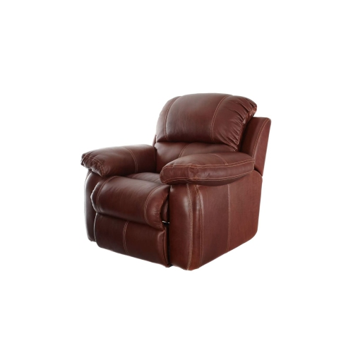 Ashanti Sophia Bushveld Genuine Full Aniline Pull-up Leather Incliner Chair - Mopani