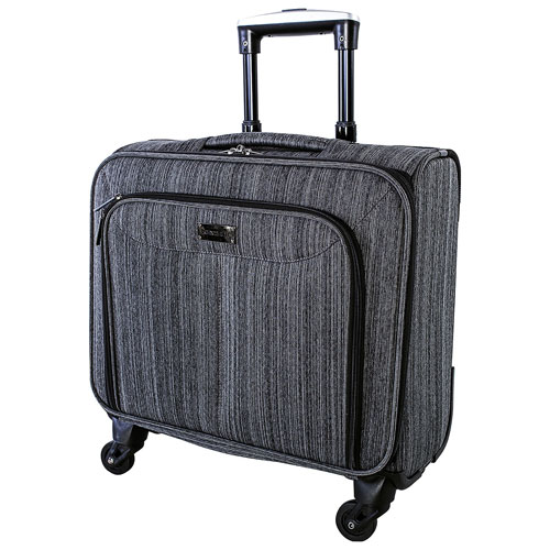 "Nextech Travelpro 15.6"" Laptop Rolling Case - Grey"