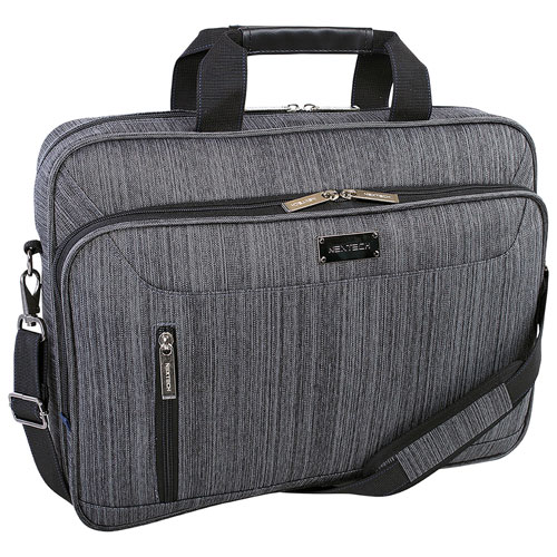"Nextech Travelpro 17.3"" Laptop Designer Bag - Grey"