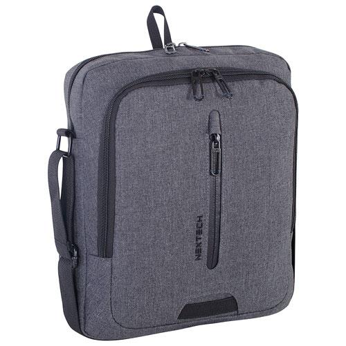 """NexTech Travelpro 10"""" Tablet Bag - Grey"""