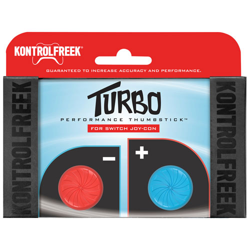 KontrolFreek Turbo Performance Thumbsticks for Nintendo Switch