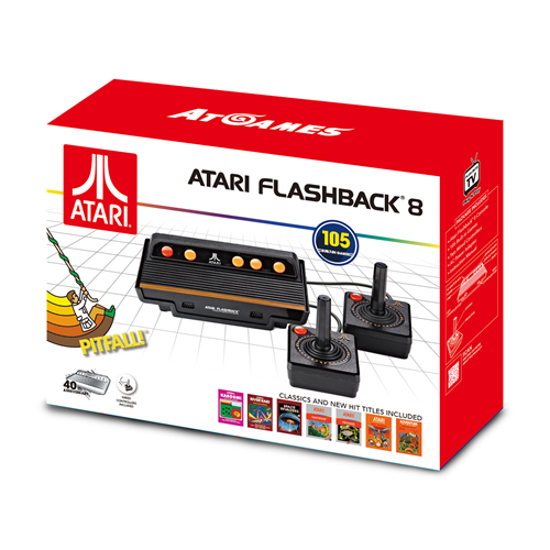 ATARI FLASHBACK 8 CLASSIC GAME CONSOLE (INCLUDED 105 GAMES)