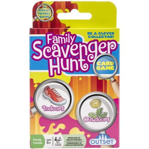 Outset Media - Family Scavenger Hunt Card Game