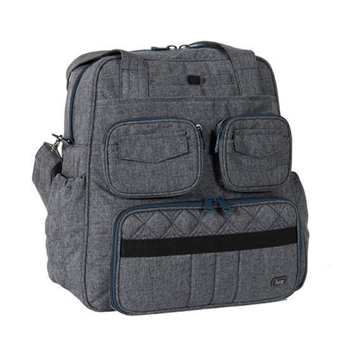 c3019a92e5 Lug - Puddle Jumper Overnight   Gym Bag (Heather Grey)   Backpacks - Best  Buy Canada