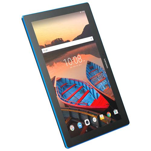 Tablette 10,1 po 16 Go Android 6.0 Tab Lenovo proc. quad. coeur Snapdragon 210 de QualComm - Ardoise