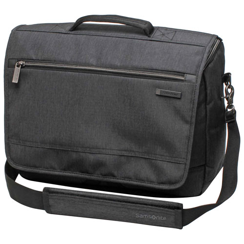 "Samsonite Modern Utility 15.6"" Laptop Messenger Bag - Charcoal Heather"
