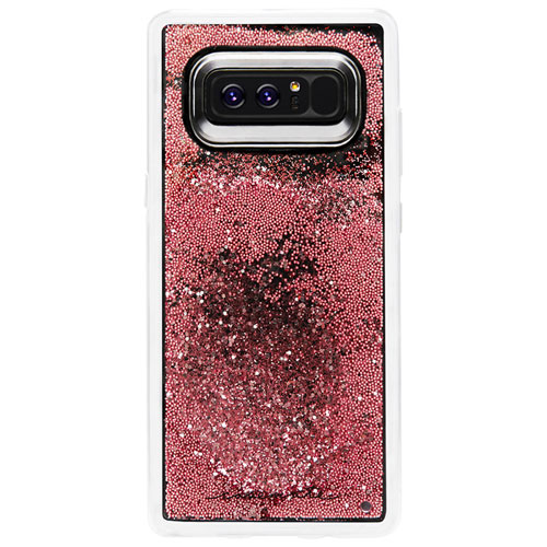 Case-Mate Waterfall Fitted Hard Shell Case for Galaxy Note8 - Rose Gold