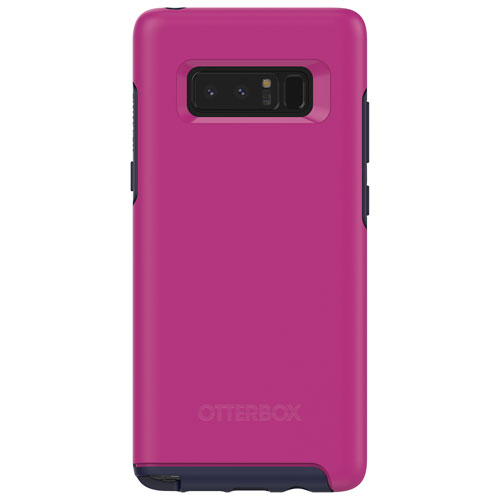 OtterBox Symmetry Fitted Hard Shell Case for Samsung Galaxy Note8 - Pink/Navy