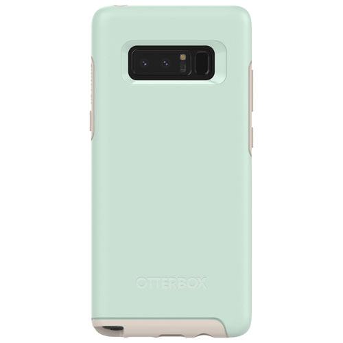 OtterBox Symmetry Fitted Hard Shell Case for Samsung Galaxy Note8 - Light Blue