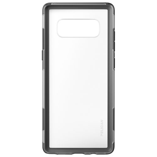 Pelican Adventurer Fitted Hard Shell Case for Samsung Galaxy Note8 - Clear/Black