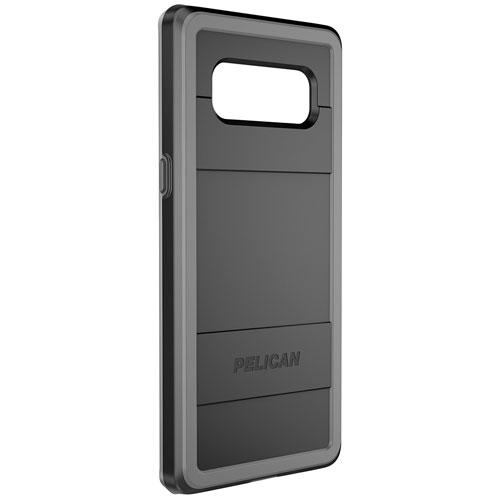 Étui rigide ajusté Protector de Pelican pour Galaxy Note8 de Samsung - Noir - Gris