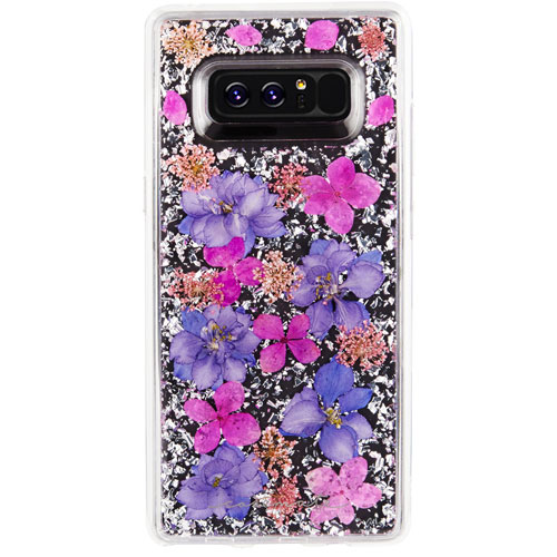 Case-Mate Karat Petals Fitted Hard Shell Case for Galaxy Note8 - Purple