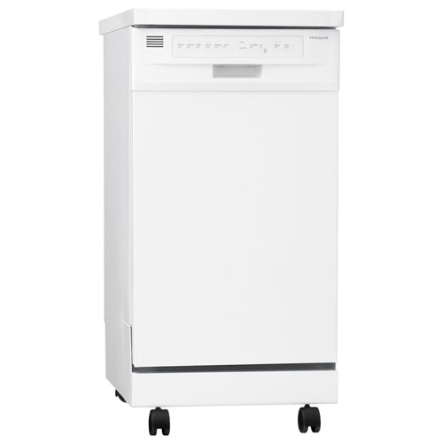 Frigidaire 18u0027u0027 Portable Dishwasher With Stainless Steel Tub (FFPD1821MW)    White : Portable Dishwashers   Best Buy Canada