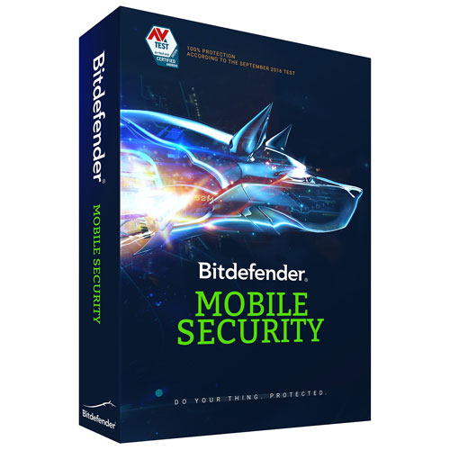Bitdefender Mobile Security (Android) - 1 User - 1 Year - English/French