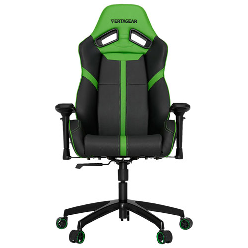 Vertagear S-Line SL5000 Faux Leather Gaming Chair - Black/Green