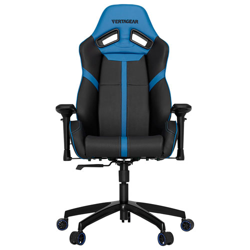 Vertagear S-Line SL5000 Faux Leather Gaming Chair - Black/Blue
