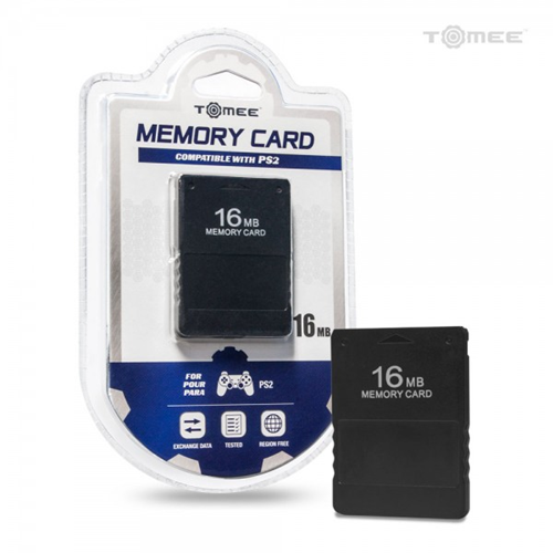 TOMEE Memory Card - PlayStation 2 (8.13E+11) - Black