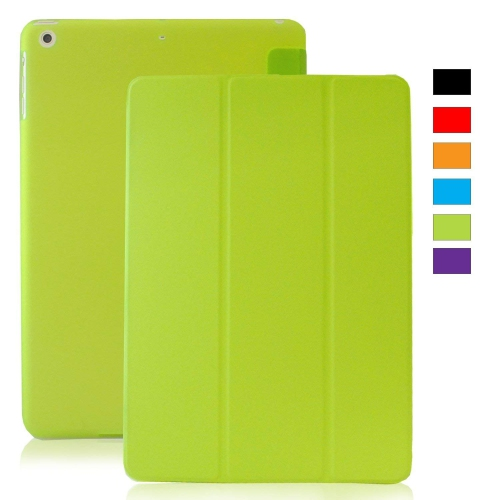 MIIU Ultra Thin Magnetic Smart Cover & Clear Back Case for Apple iPad Air 2013 (5th Gen), Green