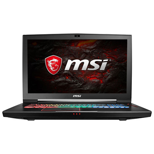 Portable jeu 17,3 po de MSI (Core i77700HQ d'Intel/SSD M.2 256 Go/DD 1 To/RAM 16 Go/GTX 1080/Win10)
