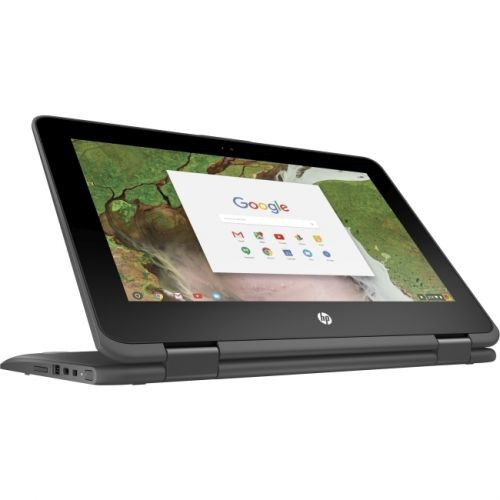 "HP Chromebook x360 11 G1 EE 11.6"" Touchscreen LCD 2 in 1 Chromebook - Intel Celeron N3350 Dual-core (2 Core) 1.10 GHz - 4GB"