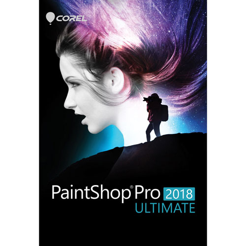 Corel PaintShop Pro 2018 édition Ultimate (PC)