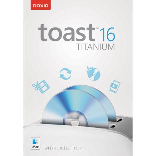 Toast 16 Titanium de Roxio