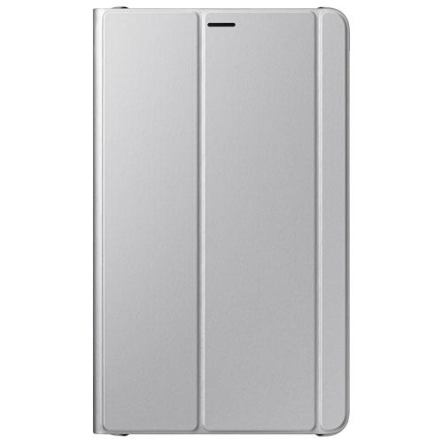 Samsung Galaxy Tab A 8 2017 Bookcover Case - Silver