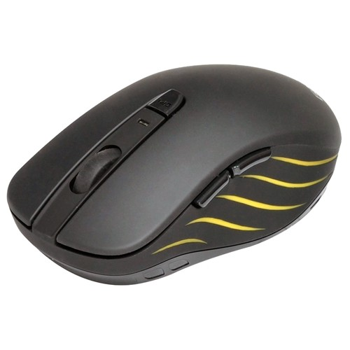 Gearhead Dual Mode 2.4Ghz Wireless Nano USB Receiver And Bluetooth Optical Mouse Black