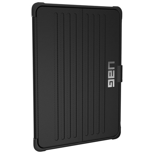 "UAG Metropolis Folio Case for iPad 9.7"" - Black/Silver"