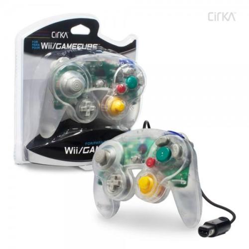 CONTROLLER GAMECUBE/WII - CLEAR CIRKA
