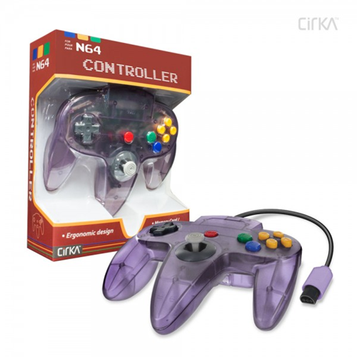 CONTROLLER N64 ATOMIC - PURPLE CIRKA