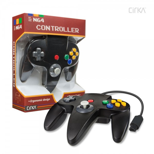 CONTROLLER N64 - BLACK CIRKA