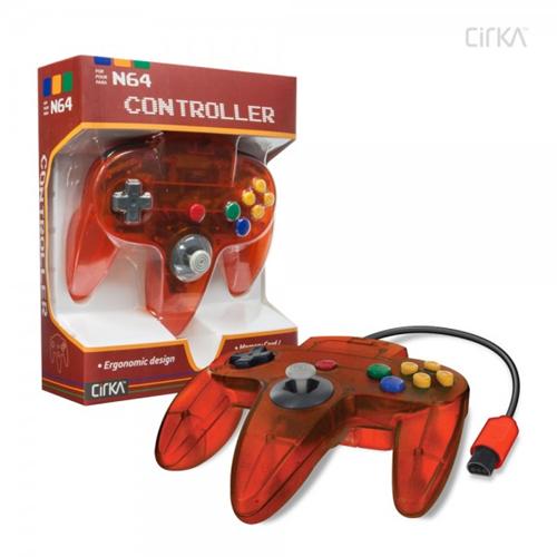 CONTROLLER N64 - FIRE CIRKA