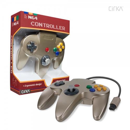 CONTROLLER N64 - GOLD CIRKA