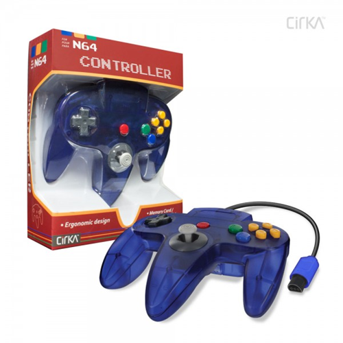 CONTROLLER N64 - GRAPE CIRKA