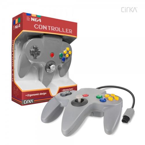 CONTROLLER N64 - GREY CIRKA