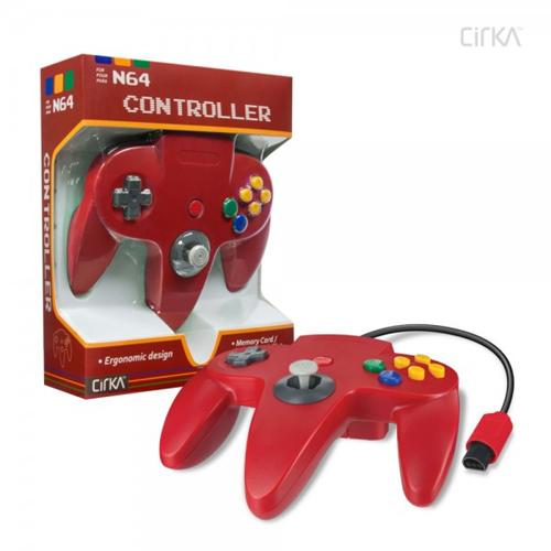 CONTROLLER N64 - RED CIRKA