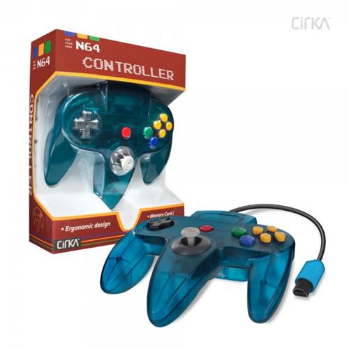 CONTROLLER N64 - TURQUOISE CIRKA