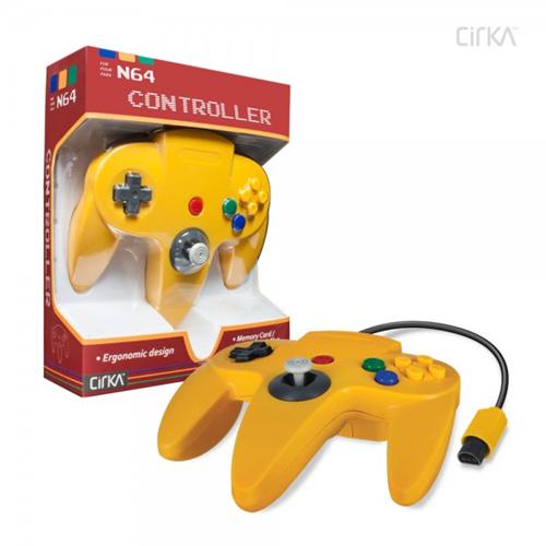 CONTROLLER N64 - YELLOW CIRKA