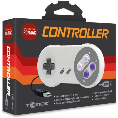 CONTROLLER SNES USB ONLY FOR PC AND MACTOMEE