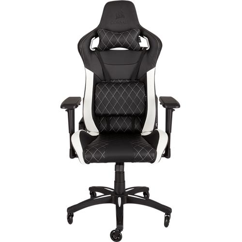Chaise de Jeu Corsair T1 RACE Office- Noir/Blanc