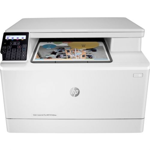 HP LaserJet Pro M180nw Laser Multifunction Printer - Color - Plain Paper Print - Desktop