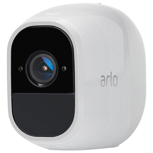 NETGEAR Arlo Pro 2 Wireless Indoor/Outdoor 1080p HD Add-On Security Camera - White