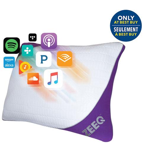 ZEEQ Smart Pillow - Standard - Only at Best Buy