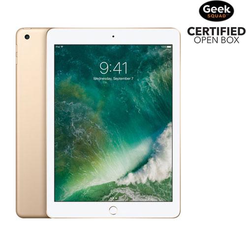 """Apple iPad 9.7"""" 32GB with Wi-Fi - Gold - Open Box"""