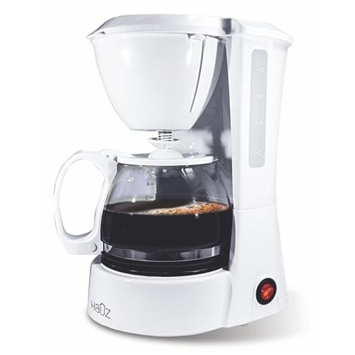 Hauz 5 Cups 750ml Coffee Maker White French Presses Percolators